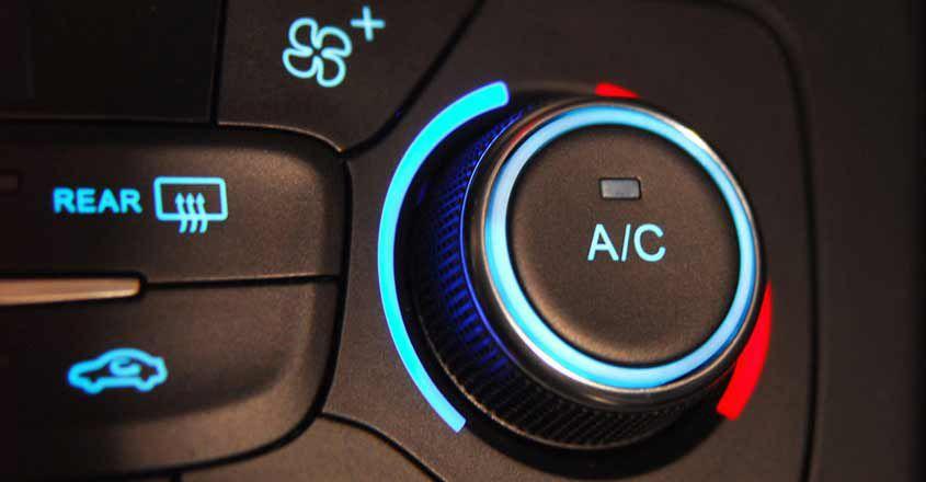 aire acondicionado en auto