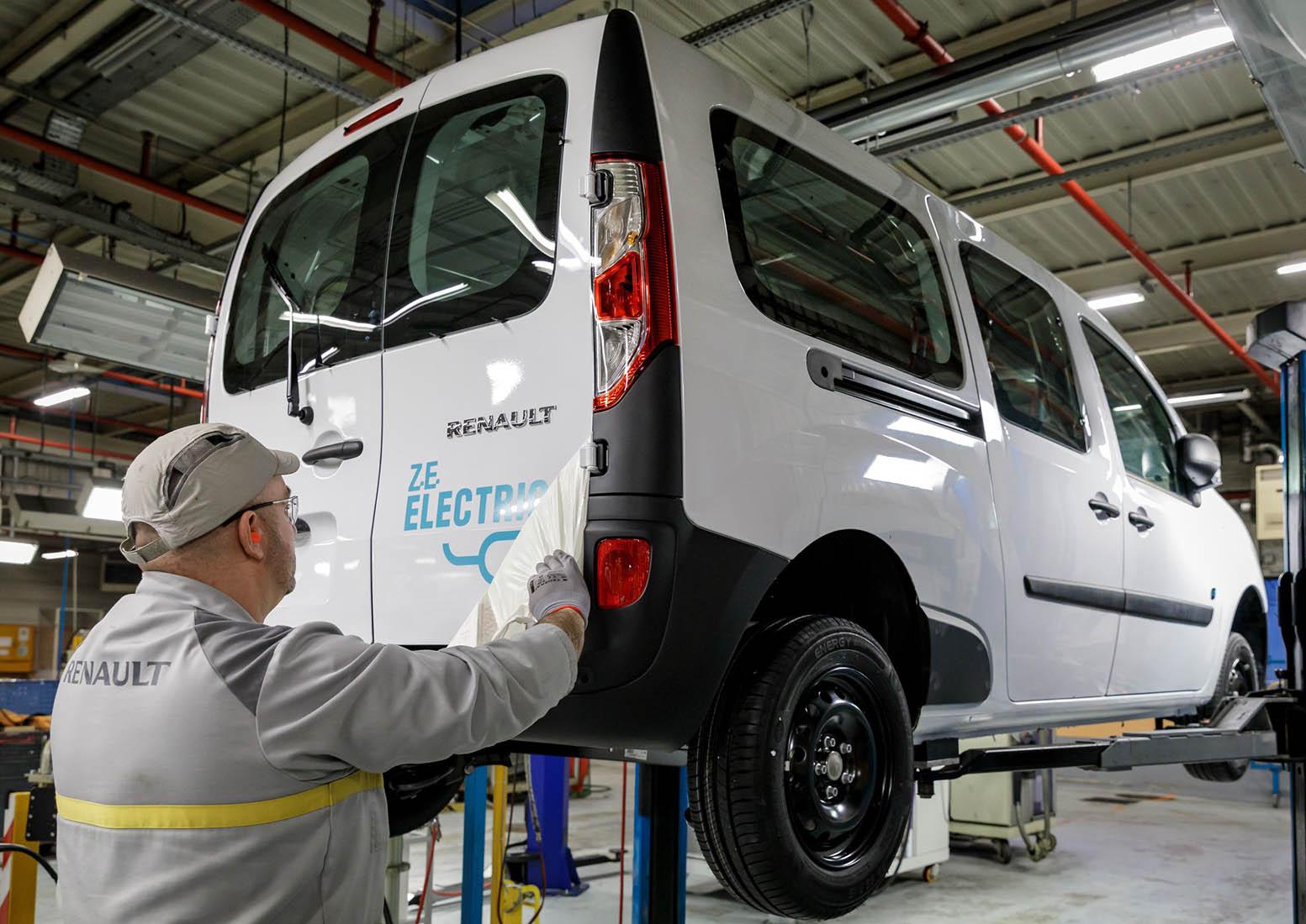 El gobierno francés otorgará un crédito a Renault
