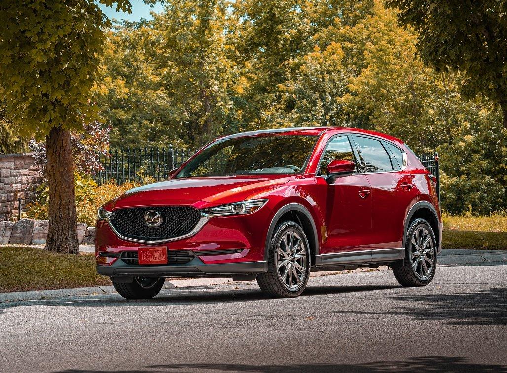 La Mazda CX-5 tiene diseño moderno