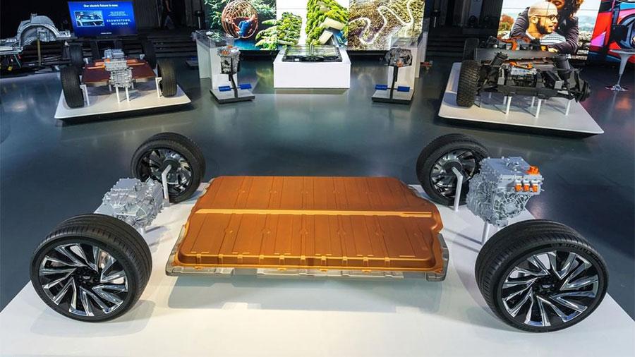 La van compartirá varios componentes con sus SUV y pick-up eléctricas
