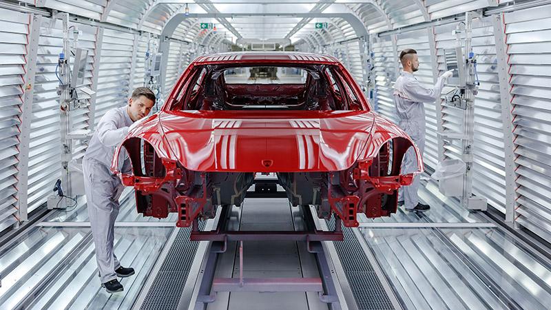 Ensamblaje Porsche