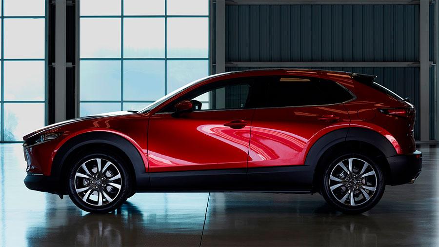La Mazda CX-30 tiene un diseño estilizado y dinámico
