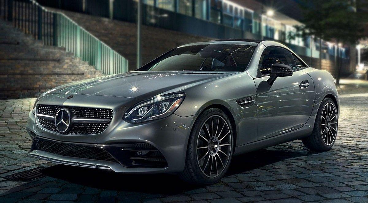 autos para 2 personas Mercedes-Benz SLC