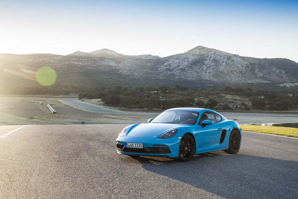 autos para 2 personas Porsche 718 Cayman