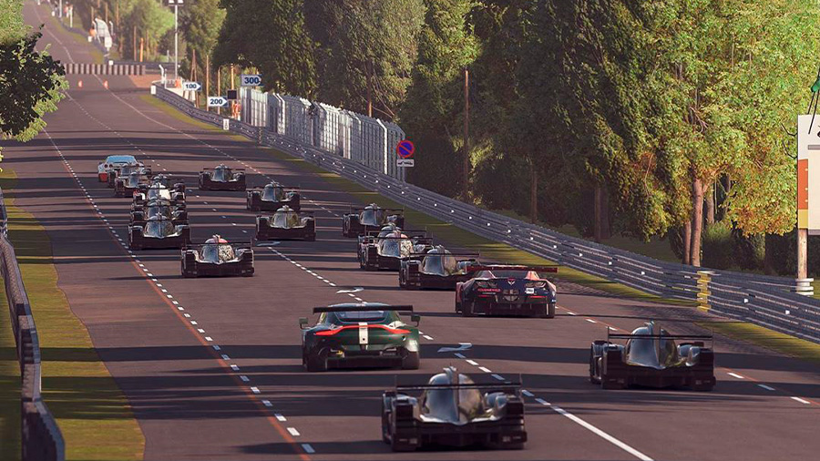 La carrera se llevará a cabo en los días en que estaba previsto originalmente celebrar las 24 horas de Le Mans