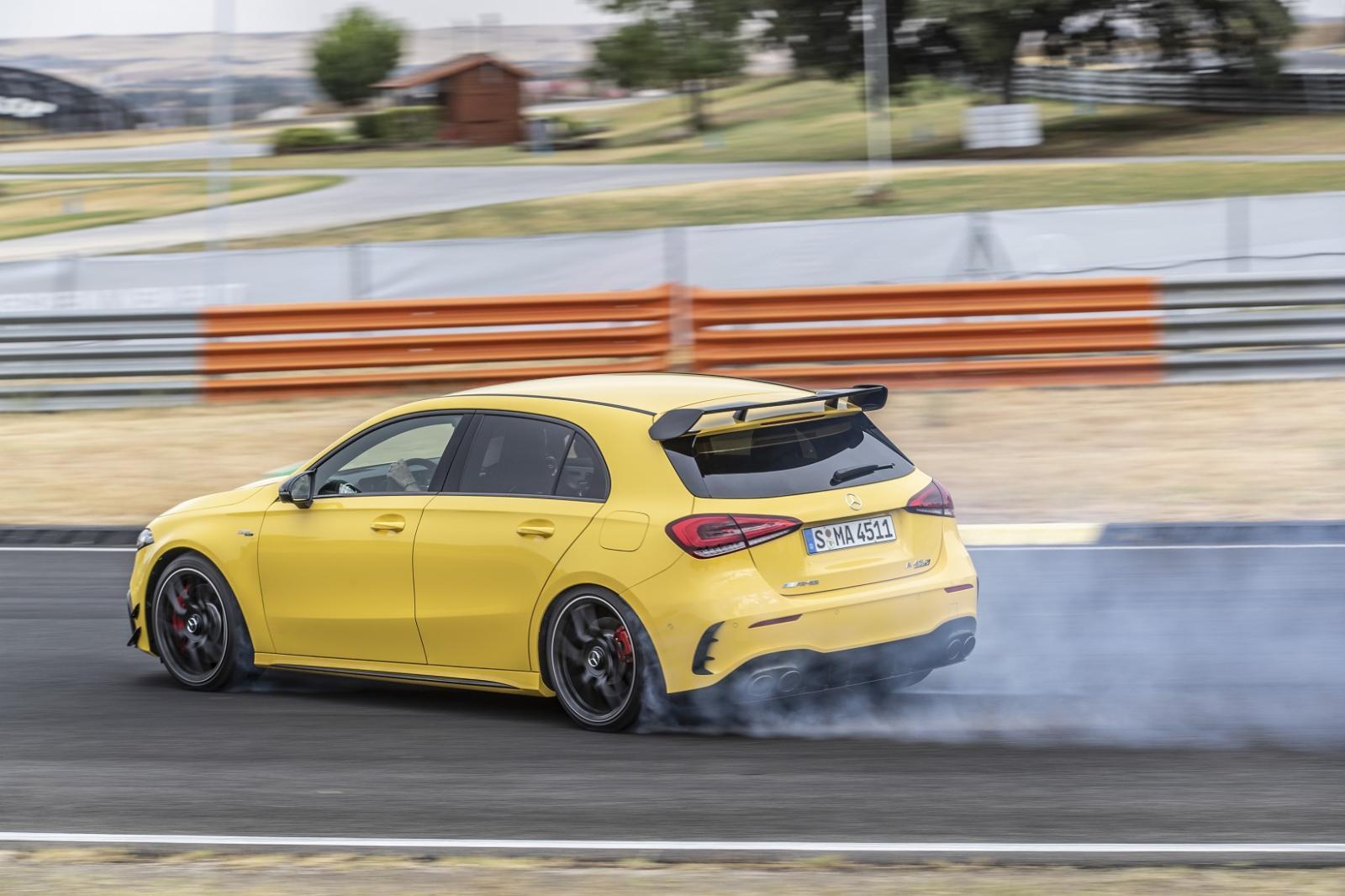 Mercedes-AMG A 45 S 4Matic+ 2020 resena opiniones