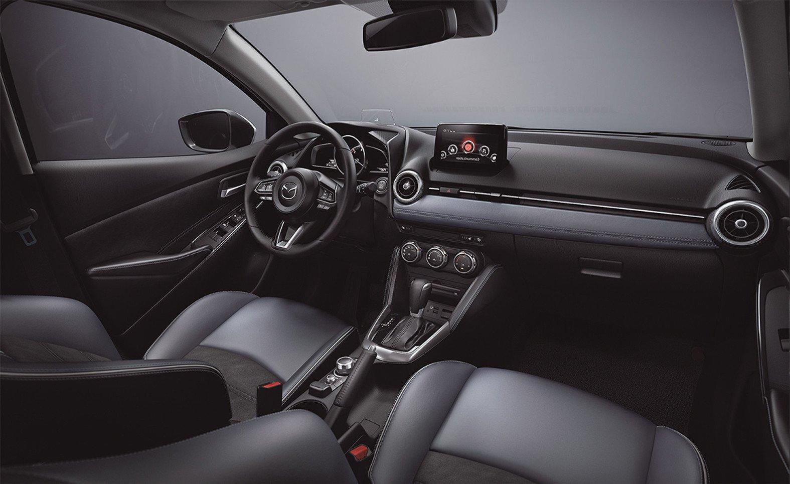 El Mazda 2 Hatchback tiene vestiduras en piel