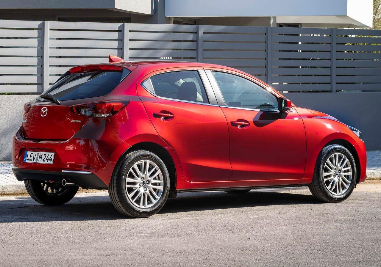 El Mazda 2 tiene motor 4 cilindros