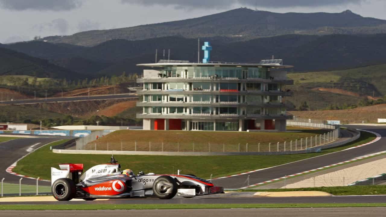 Algarve F1 Ferrari F2007