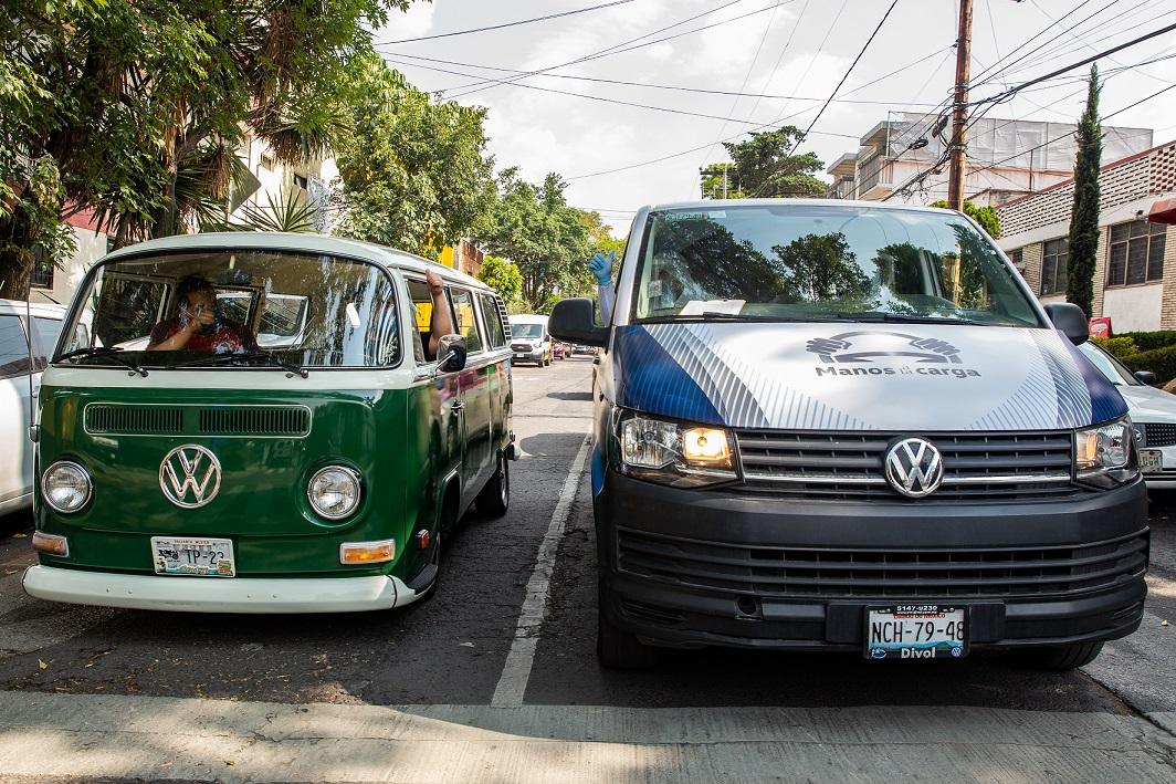 Volkswagen sanitiza la Central de Abasto de CDMX