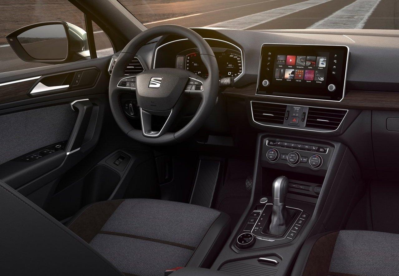 La SEAT Tarraco tiene un interior amplio
