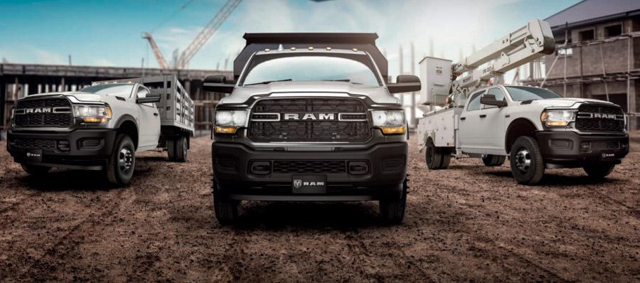 La Ram 4000 se comercializa en 3 versiones dentro de nuestro país
