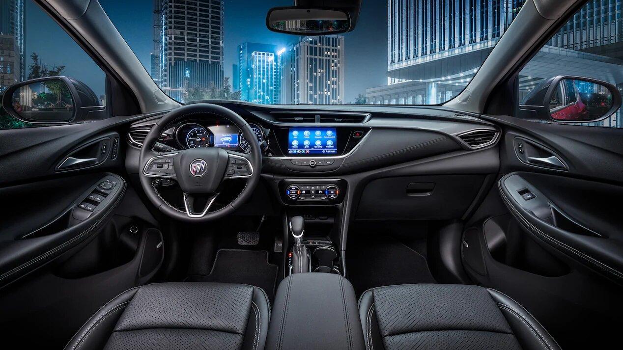 La Buick Encore GX tiene algunos acentos cromados