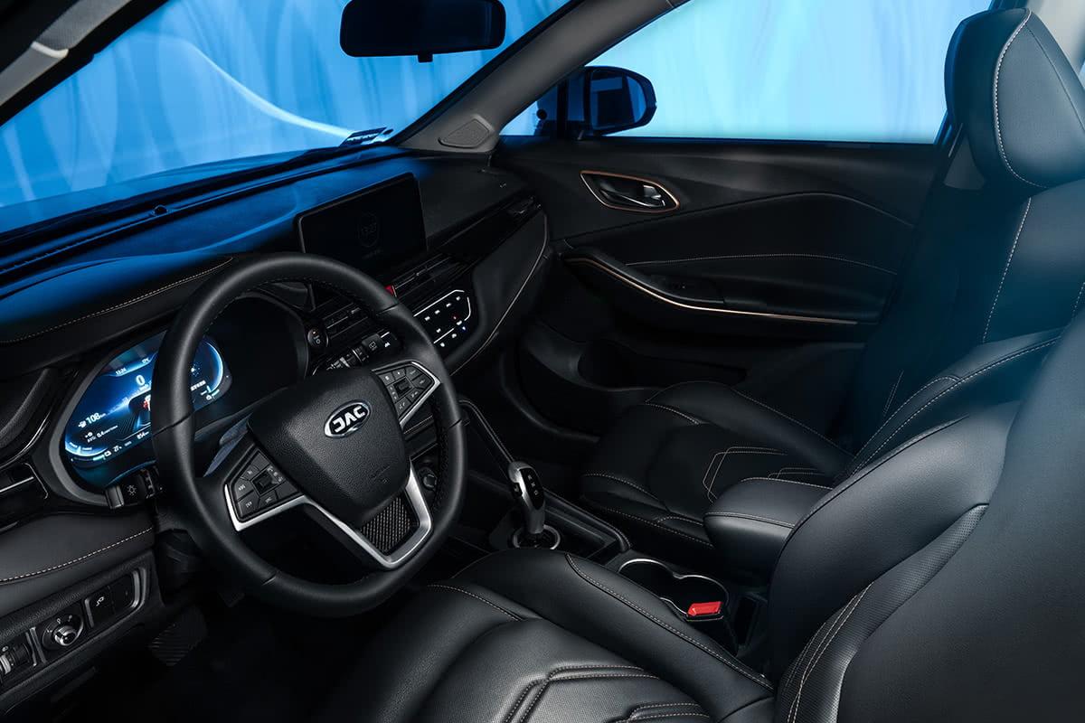 La JAC E-Sei 4 tiene un interior moderno