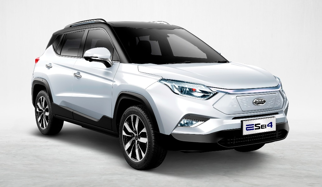 La JAC E-Sei 4 es una SUV eléctrica