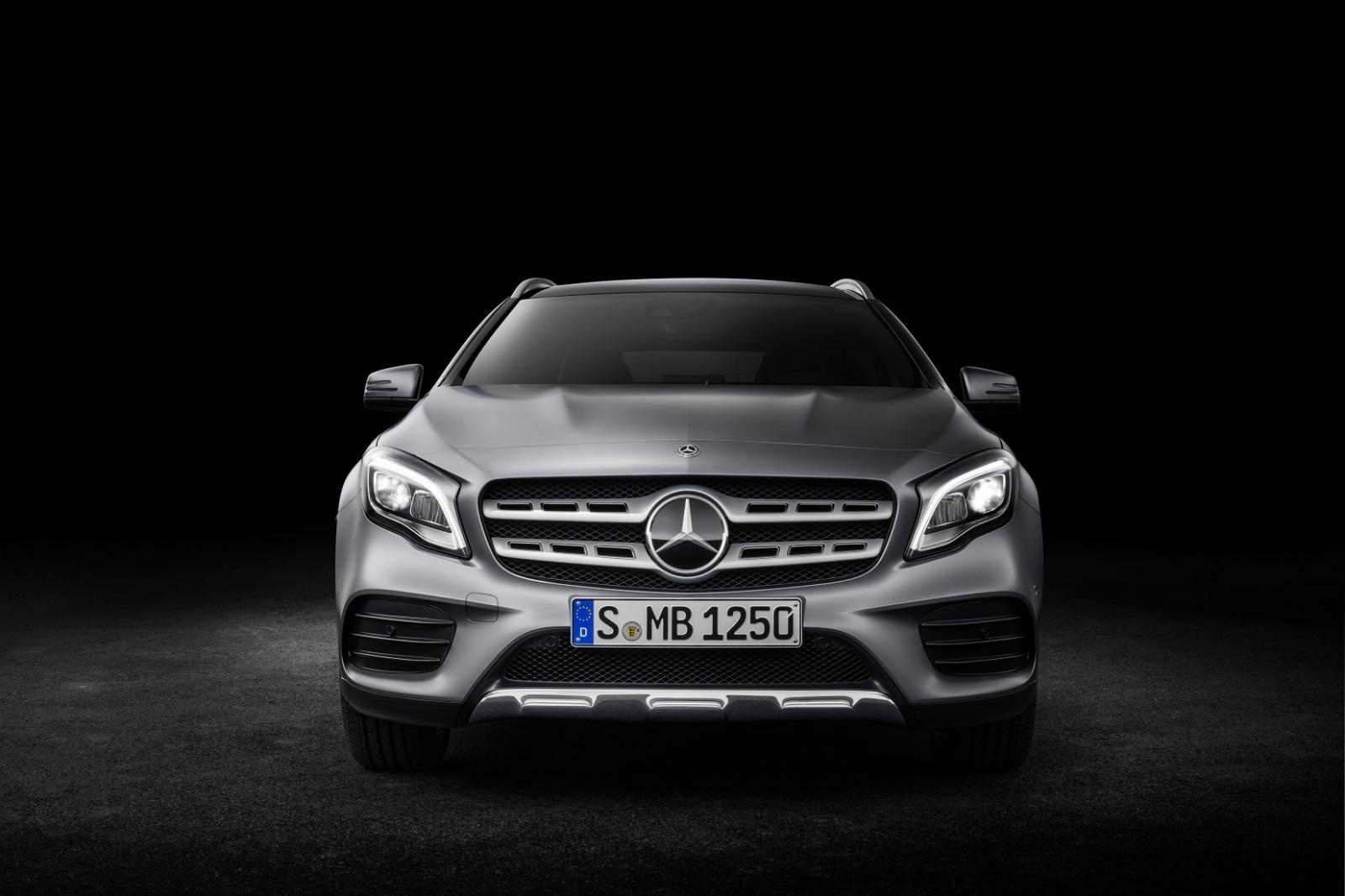 La Mercedes-Benz GLA tiene una apariencia lujosa
