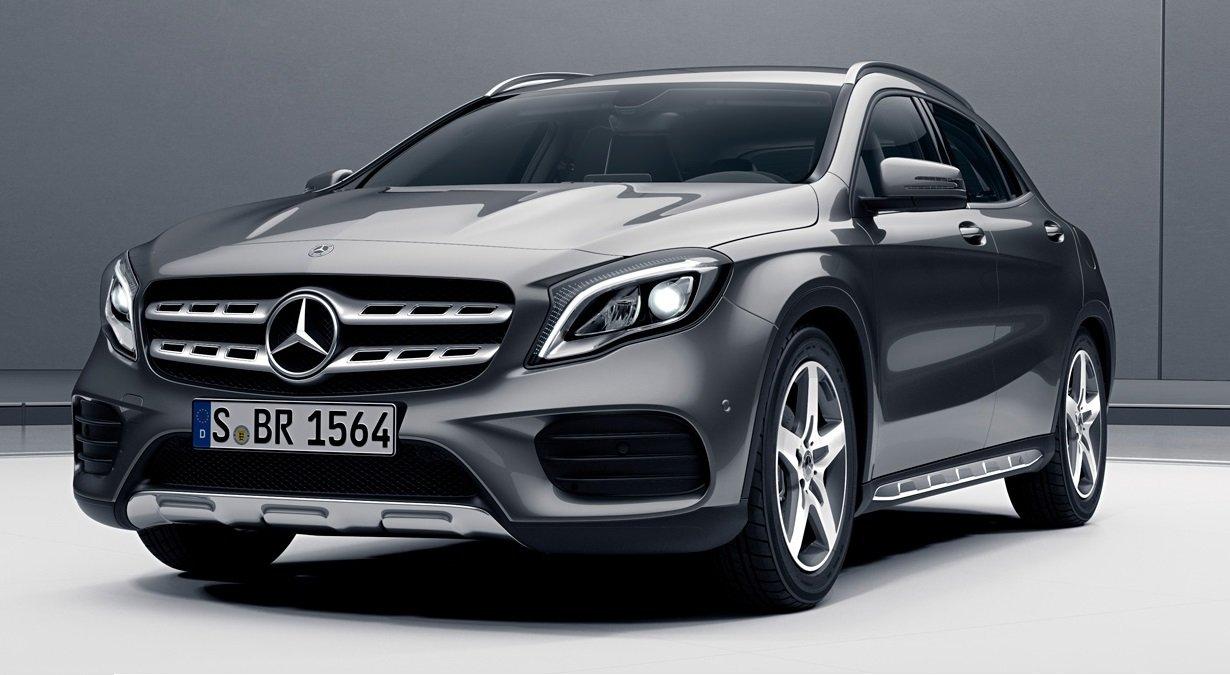La Mercedes-Benz GLA tiene motor turbo
