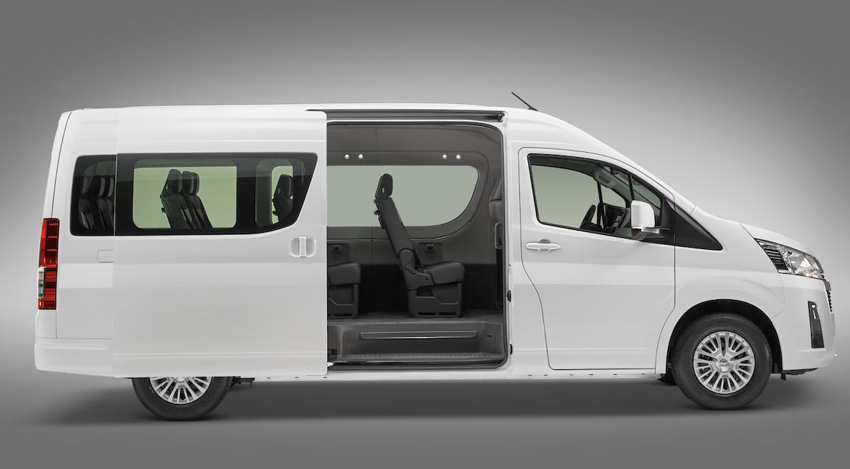 Hyundai Starex 2020 Toyota Hiace 2020 comparativa
