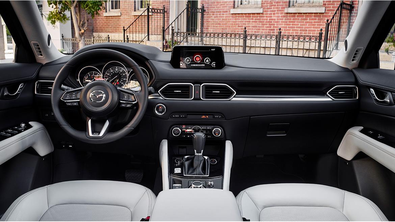 La Mazda CX-5 precio mexico tiene elementos tecnológicos en su interior