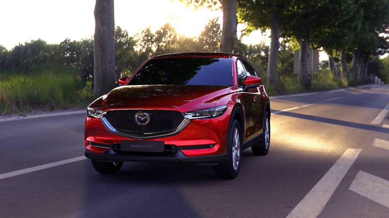 La Mazda CX-5 precio mexico se ve muy dinámica y moderna