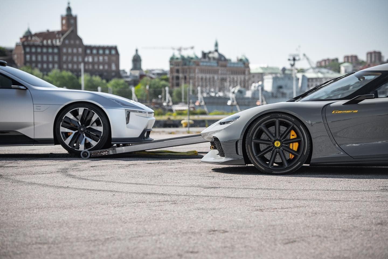 Polestar Precept y Koenigsegg Gemera