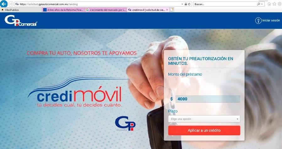 GPI Auto Comercial website