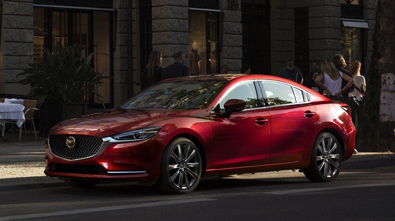 El Mazda 6 tiene motor cuatro cilindros