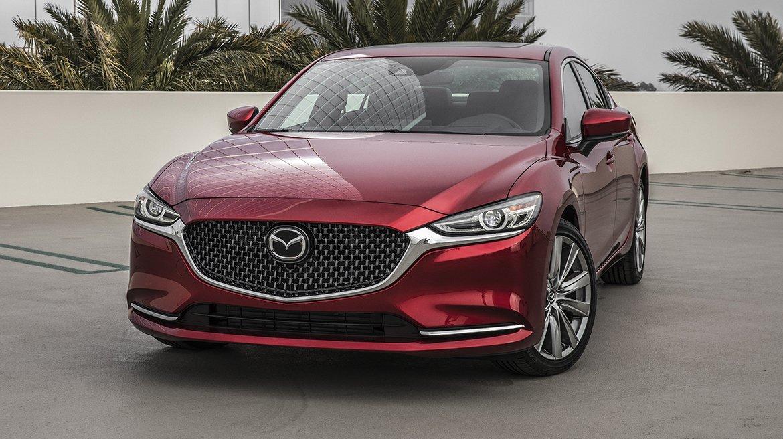 El Mazda 6 tiene un diseño particular