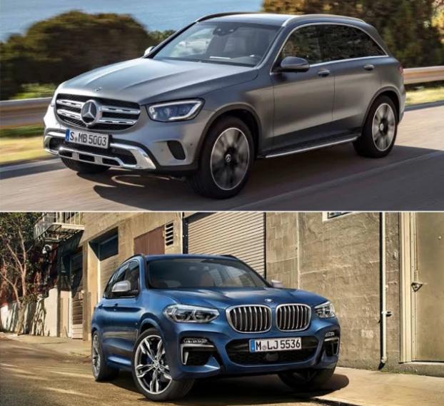 Comparación entre BMW X3 y Mercedes-Benz GLC