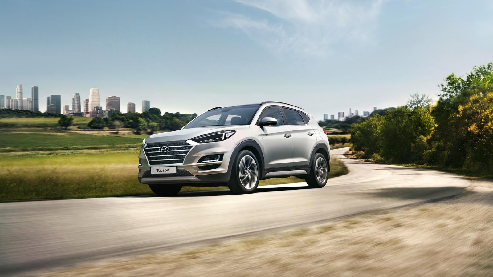 Hyundai Tucson GLS 2020 Volkswagen Tiguan Trendline Plus 2020 comparativa