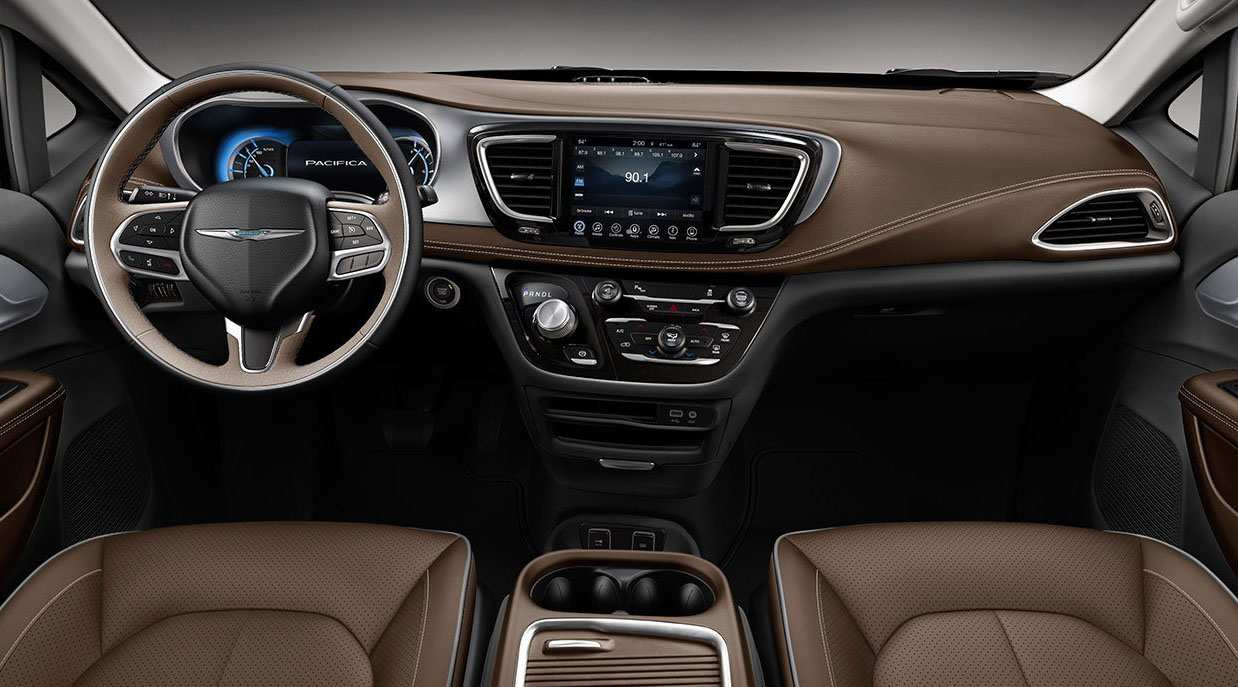 La Chrysler Pacifica tiene un interior lujoso