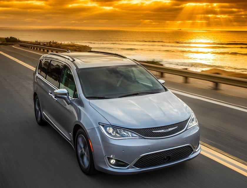 La Chrysler Pacifica tiene una buena configuración mecánica