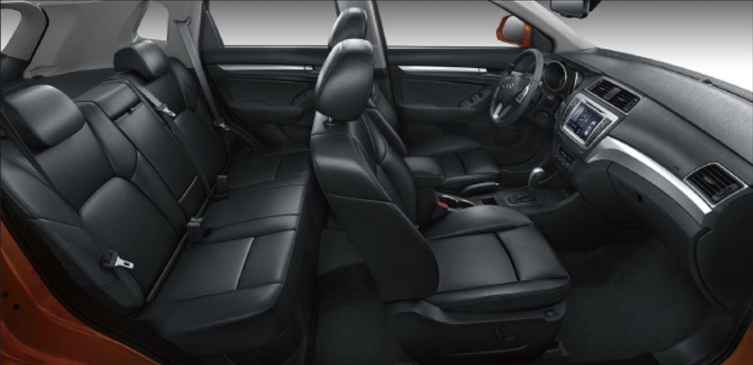 La BAIC X65 tiene un interior cómodo
