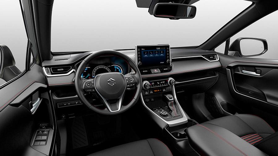 Incluso el interior del nuevo modelo es una calca de la cabina de la SUV de Toyota