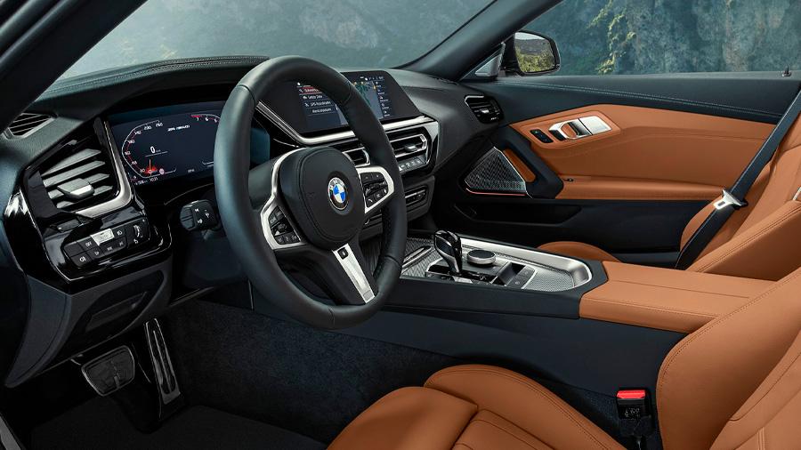 El interior BMW Z4 M40i 2021 resena opiniones transmite su esencia premium por la calidad de sus materiales