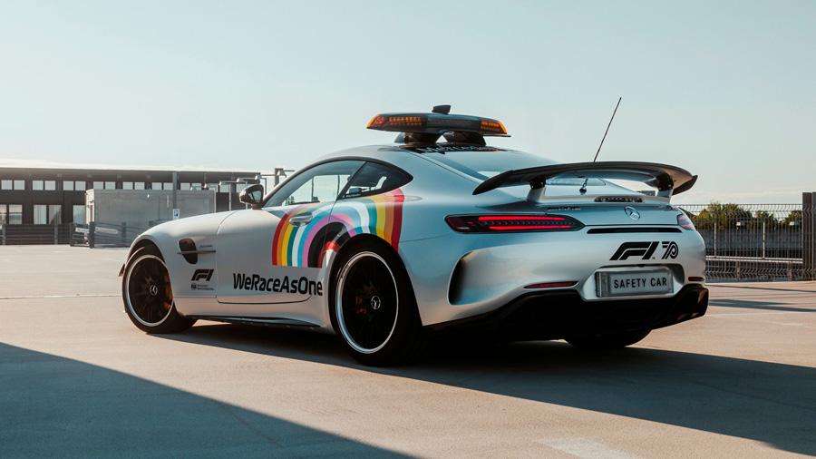 El safety car será empleado para crear conciencia sobre algunos problemas sociales