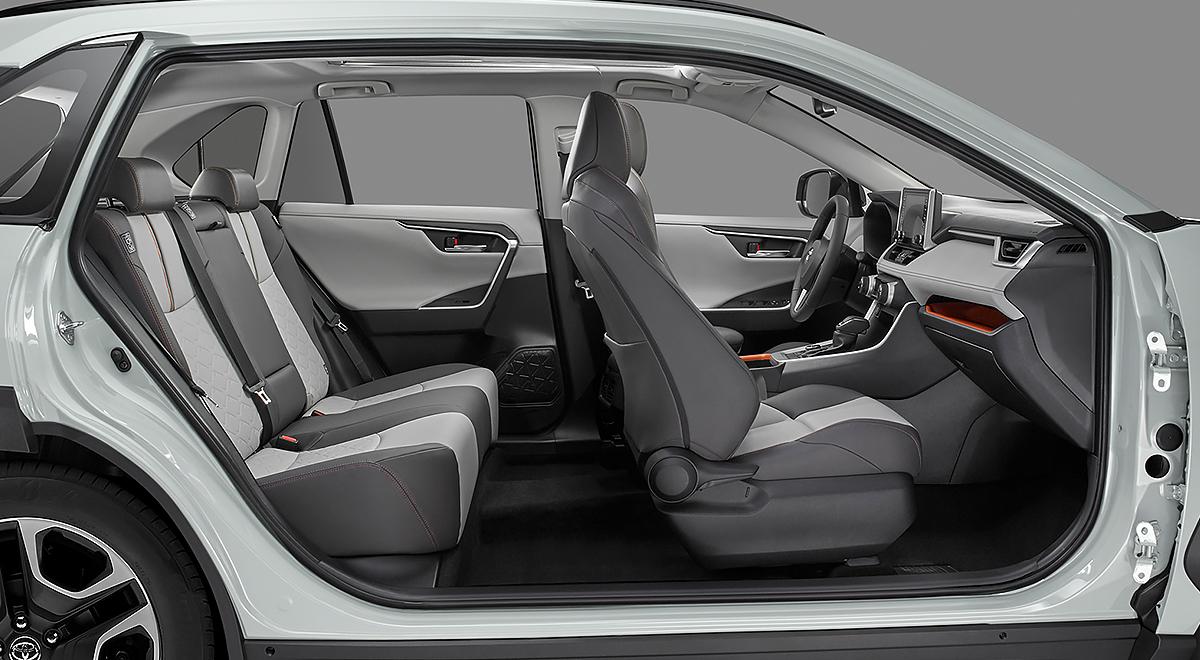Toyota RAV4 Limited 2020 Honda CR-V Touring 2020 comparativa