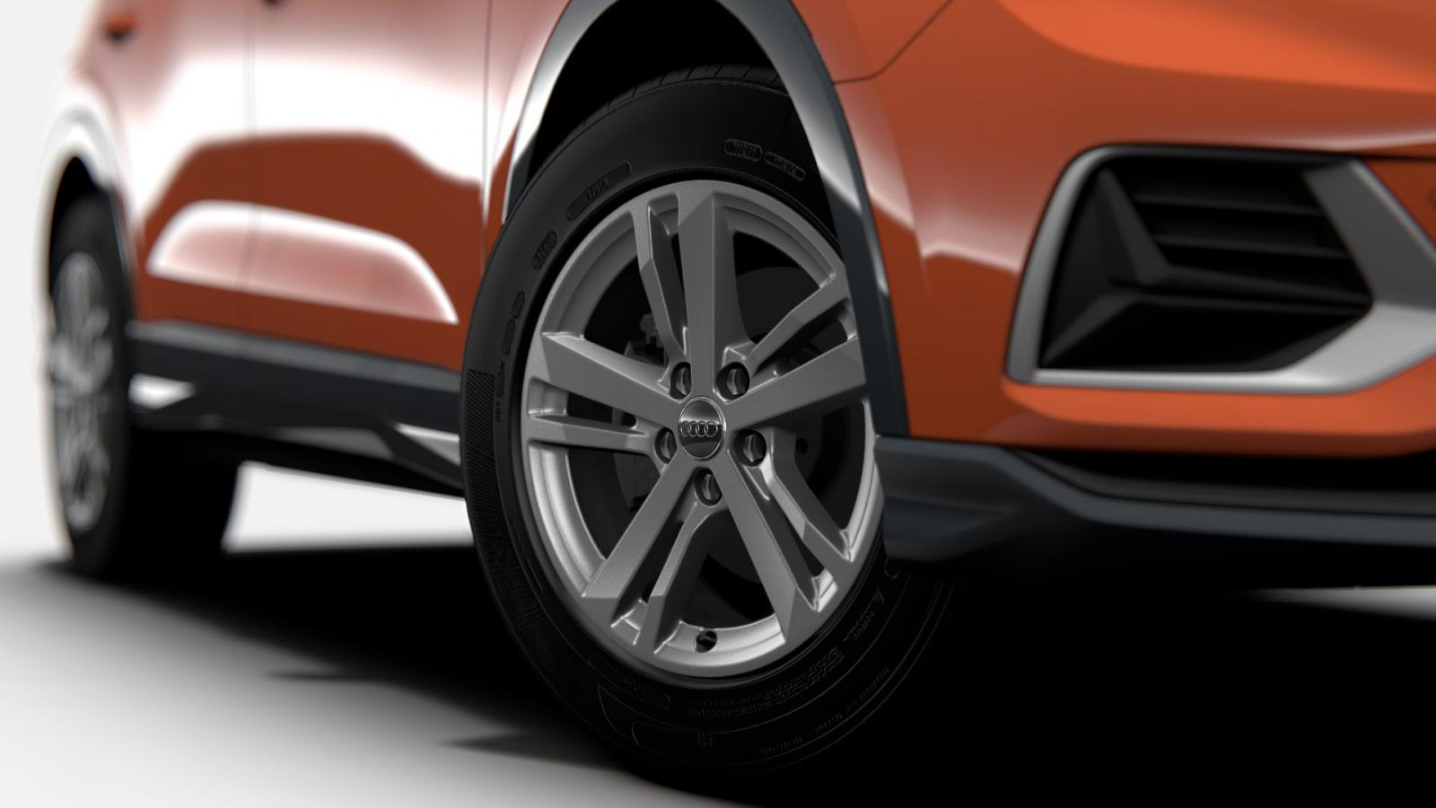La Audi Q3 precio mexico tiene dos opciones de rines