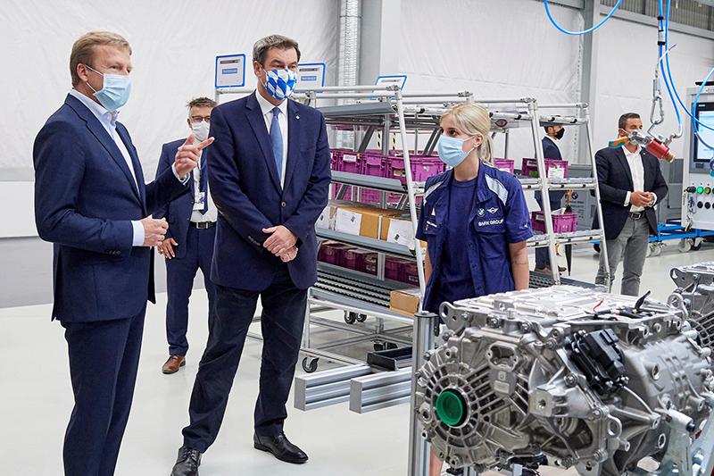 BMW sistema motor eléctrico