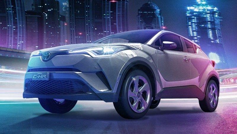 La Toyota C-HR precio mexico es una SUV llamativa