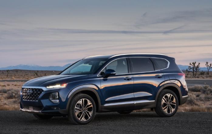 Ford Edge SEL Plus 2020 Hyundai Santa Fe Limited Tech 2020 comparativa