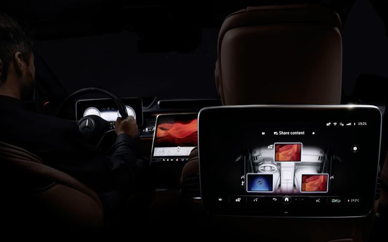 Mercedes-Benz Clase S interior