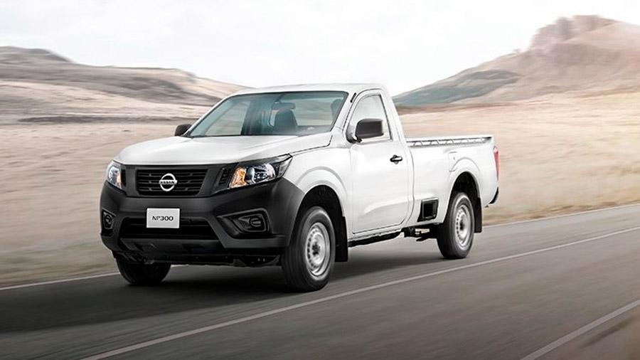 La Nissan NP300 es la única pick-up en el Top 10