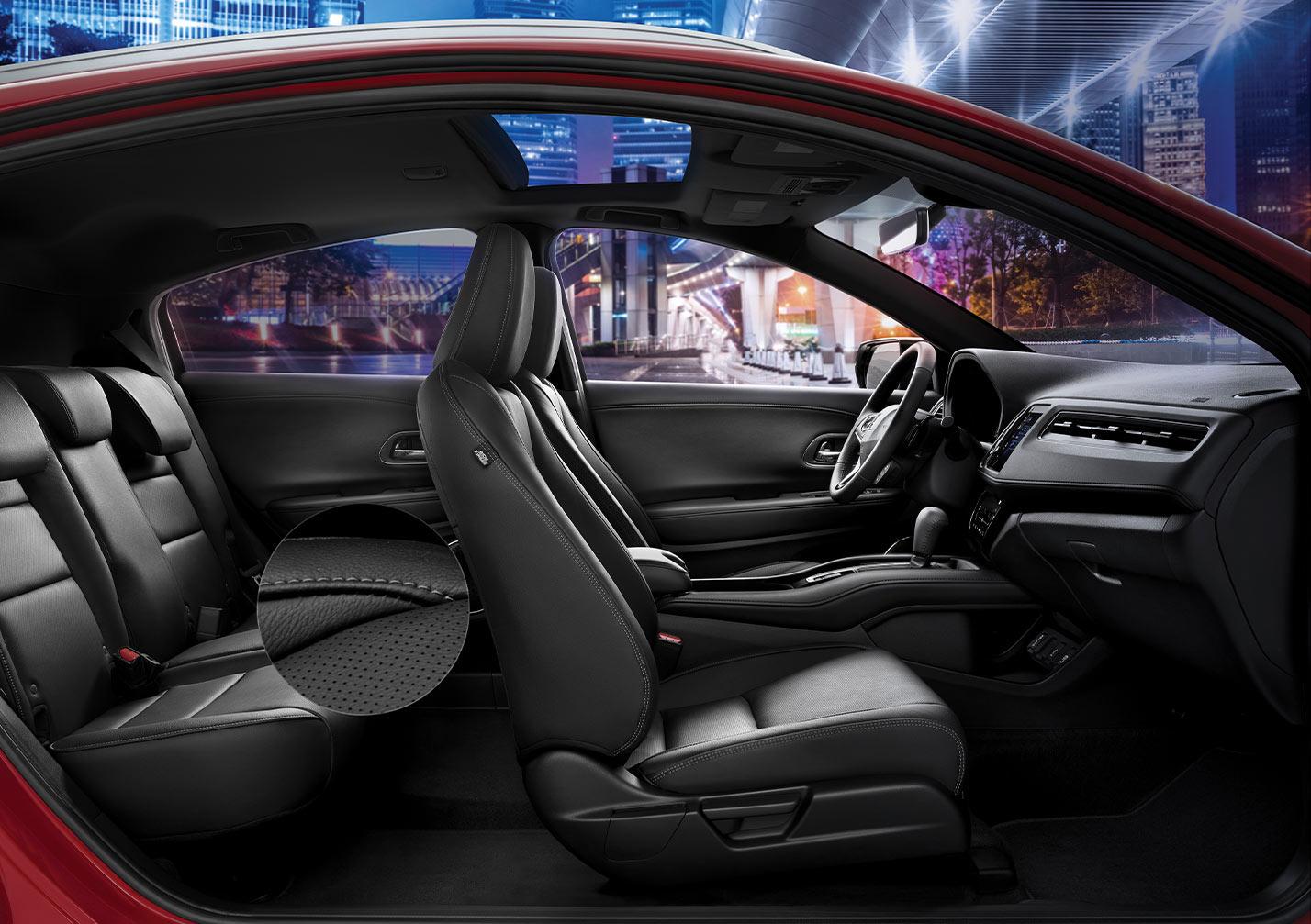 La Honda HR-V Touring tiene un interior cómodo