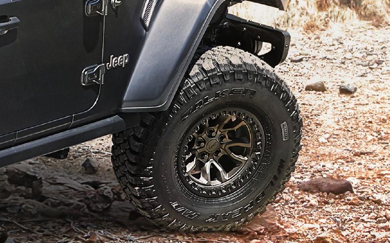 Jeep Wrangler llantas