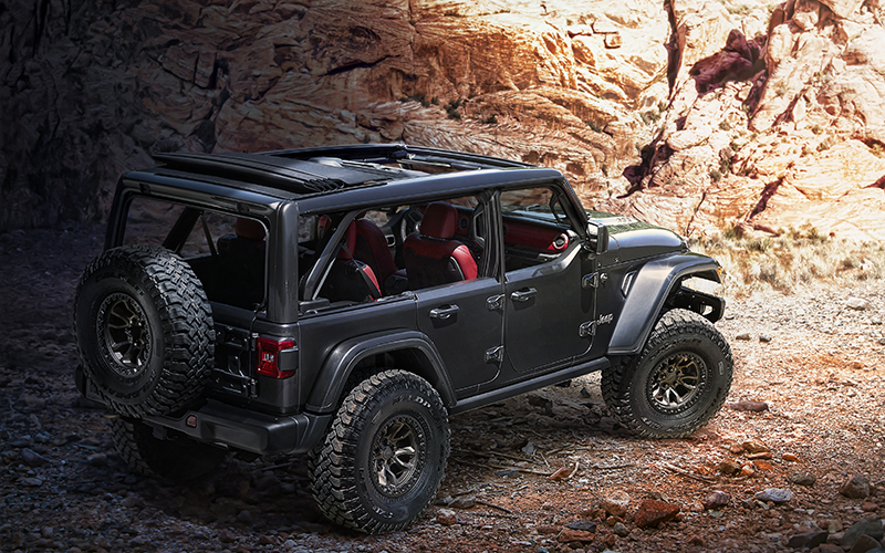 La Jeep Wrangler Rubicon 392 Concept