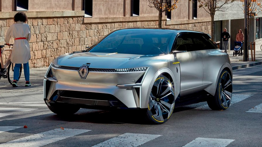 Tomará como base la estética de la Renault Morphoz Concept