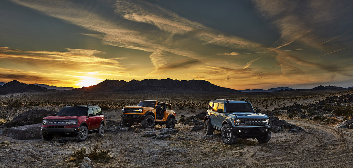 Ford Bronco familia