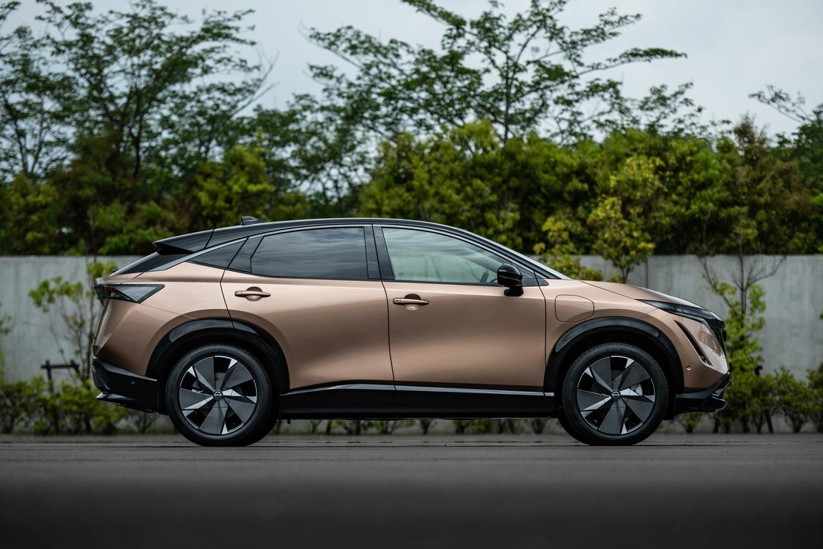 Nissan presentó la Ariya, su nueva SUV eléctrica