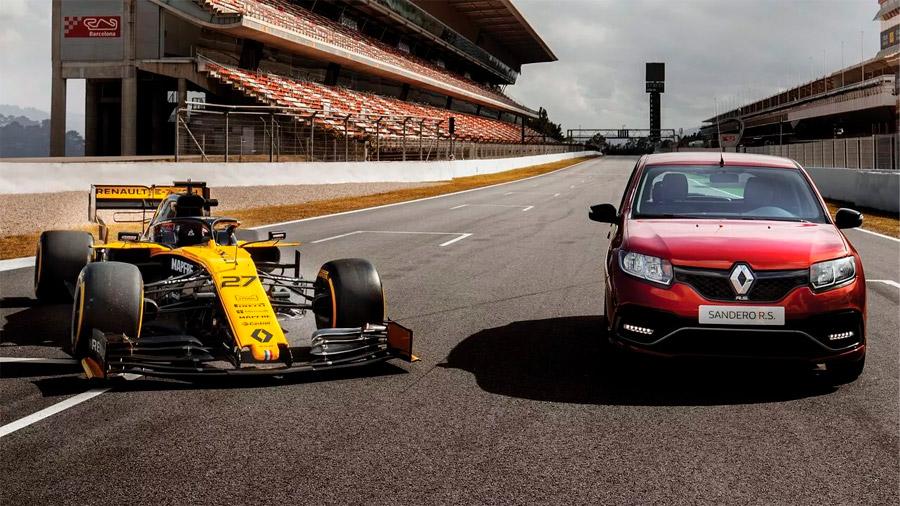 El Renault Sandero se encuentra disponible con 2 colores de carrocería